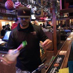 Photo of Dirtbag's - Tucson, AZ, United States. Bartender hard at work