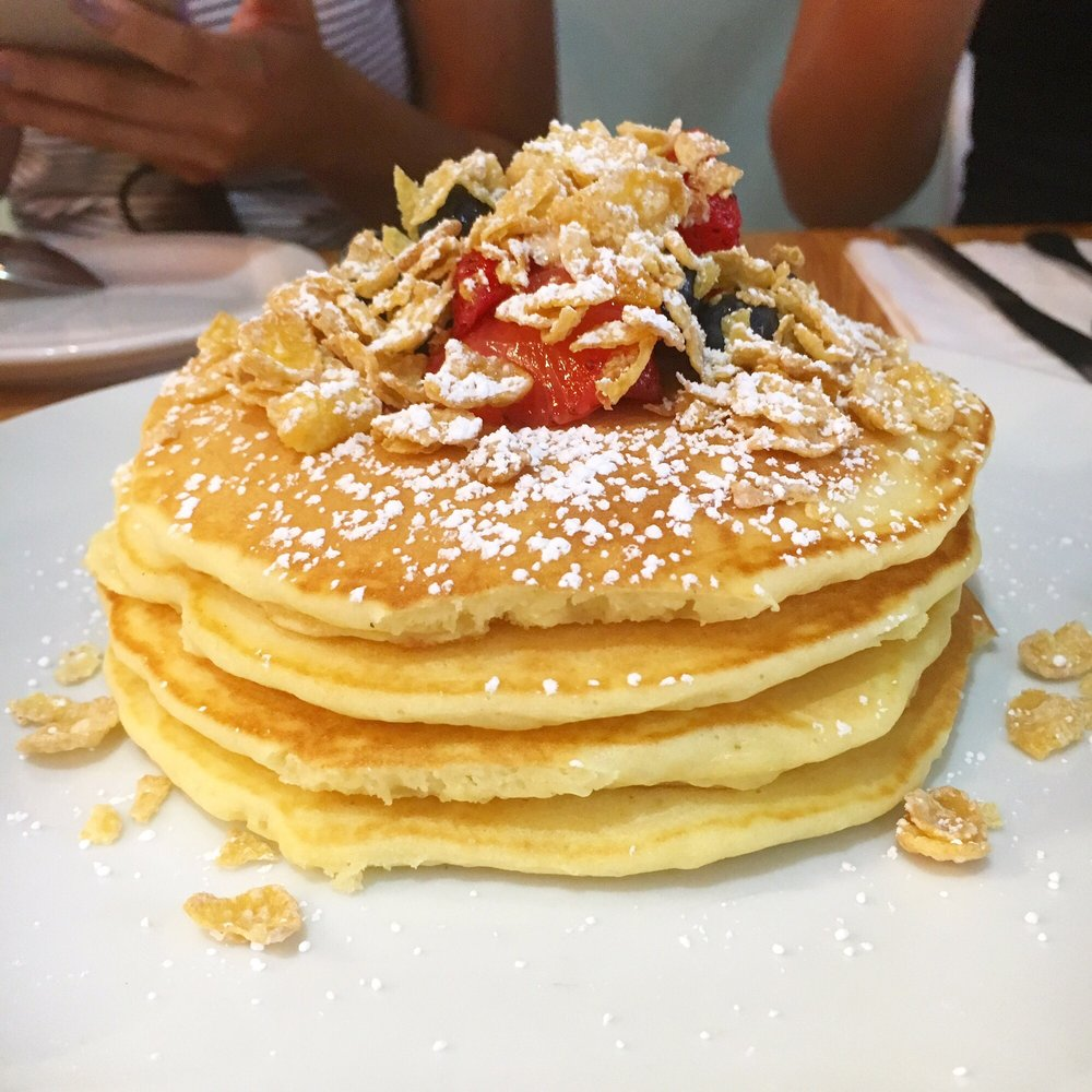 Scratch Kitchen And Bake Shop Milk And Cereal Pancakes  Yelp