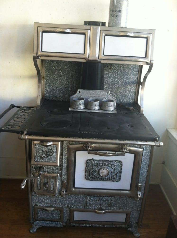 Sanford s antiques antiques 10 bank st san anselmo - Antique wood burning stove ...