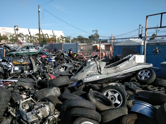 Pick Your Part 1903 Blinn Ave Wilmington, CA Auto Parts-Used