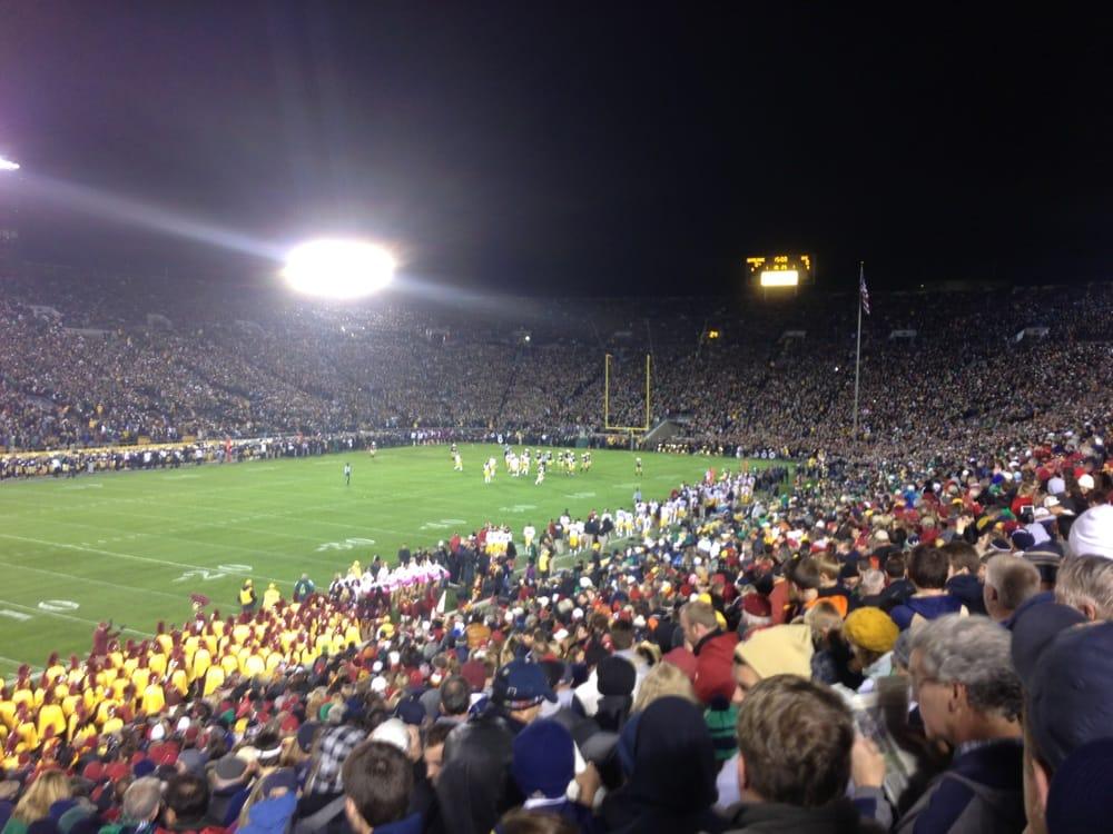 Social Spots from Notre Dame Alumni Stadium