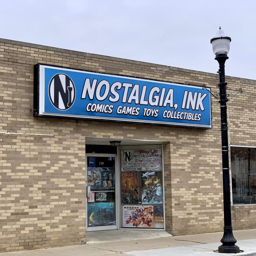 Nostalgia Ink: 139 S Mechanic St, Jackson, MI