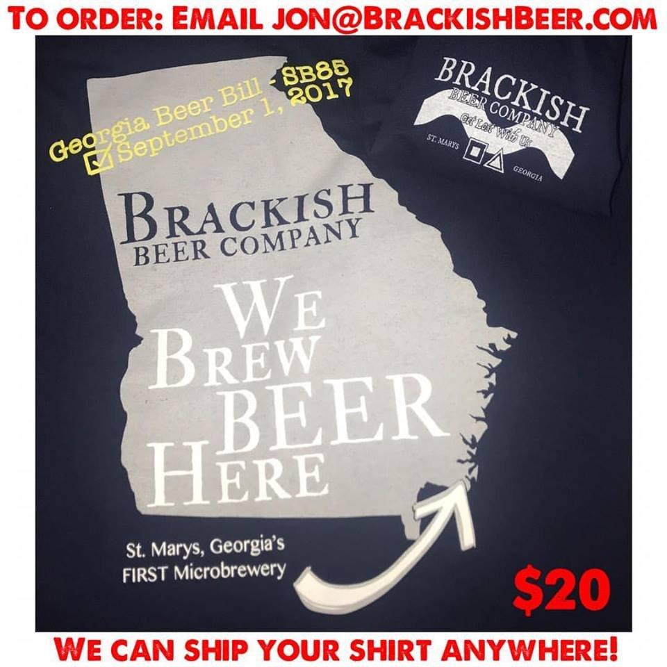 Brackish Beer Company: 907 Dilworth St, Saint Marys, GA