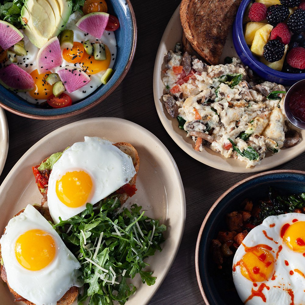 Snooze, an A.M. Eatery: 820 Bay Area Blvd, Webster, TX
