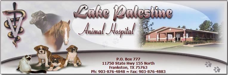 Lake Palestine Animal Hospital: 11750 State Hwy 155, Frankston, TX