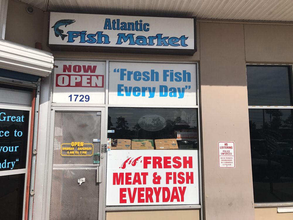 Atlantic fish market seafood markets 1729 w oak ridge for Atlantic fish market