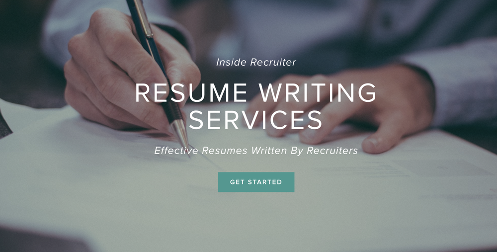 Professional Resume Writing Services Our Team Of Resume