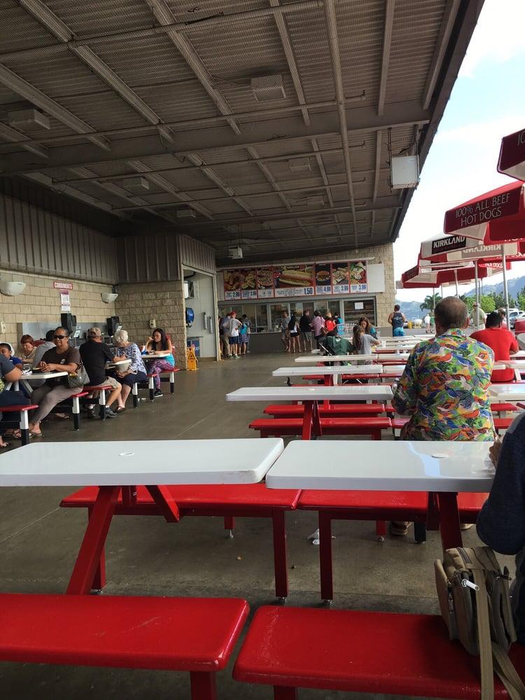 Costco Lihue Food Court