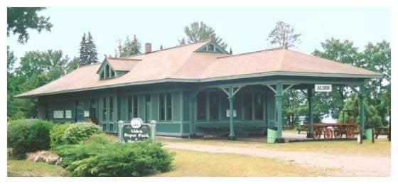 Alden Depot Park & Museum: 10670 Coy, Alden, MI