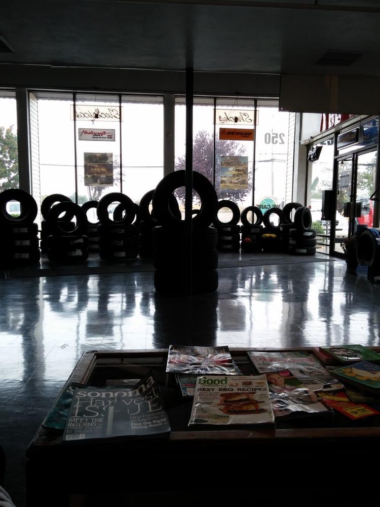 Benjamin Tire & Brake: 250 Airport Blvd, Santa Rosa, CA