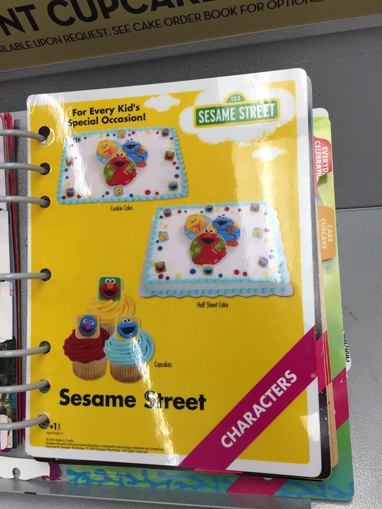 Sam S Club Sesame Street Cake