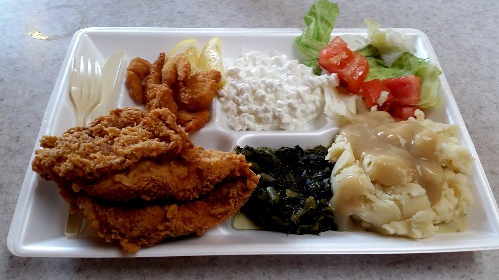 Jay's Krispy Fried Chicken: 218 N Main St, Sikeston, MO