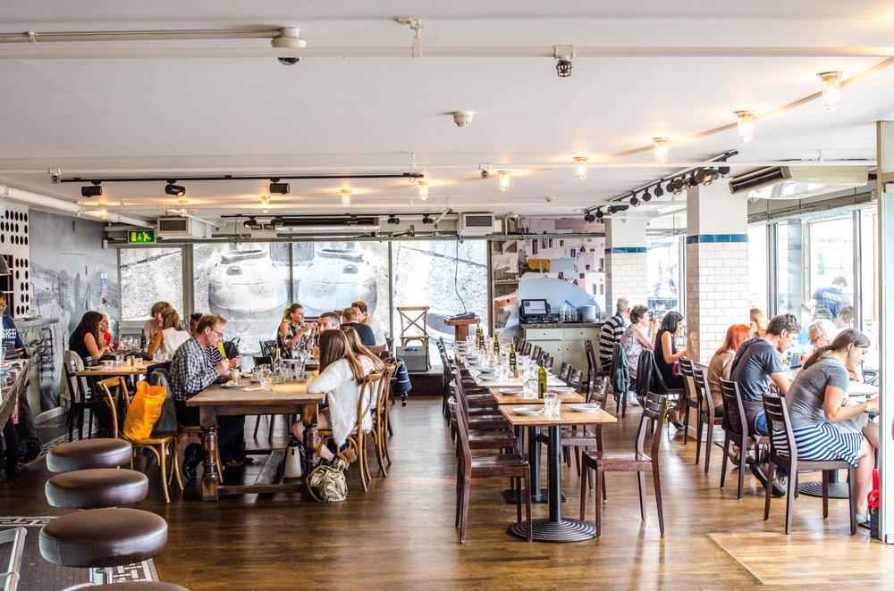Bank London Restaurants En Ga