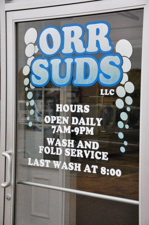 Orr Suds Laundromat: 252 Cherry St, Orrville, OH