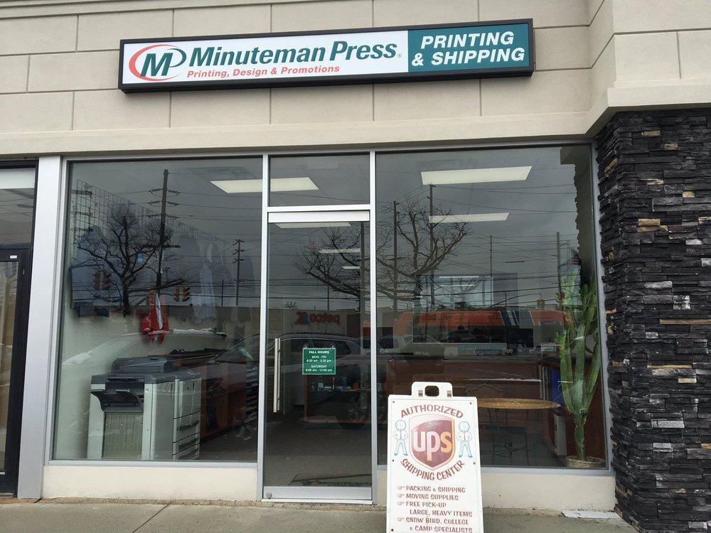 Minuteman Press: 1313 Broadway, Hewlett, NY