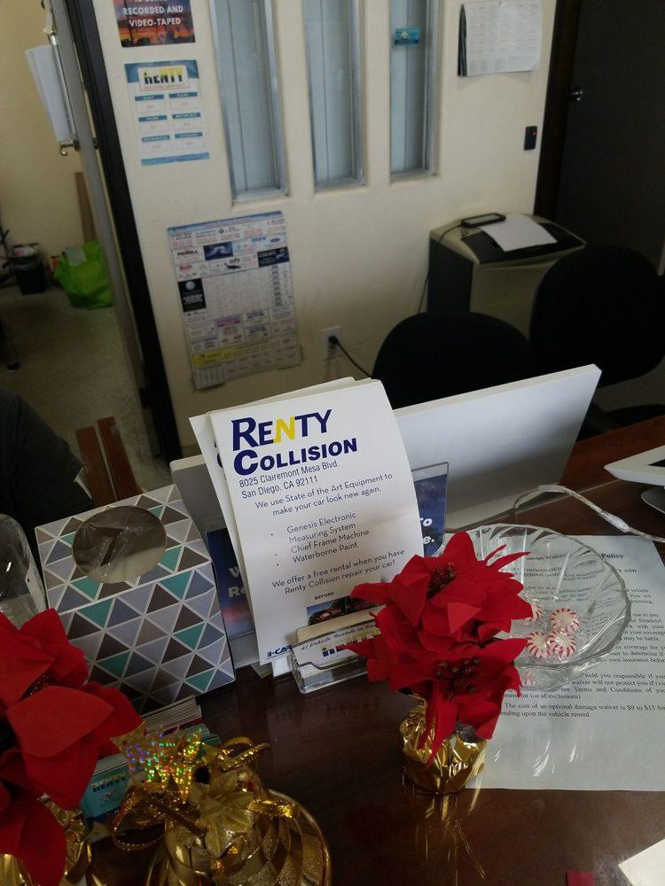 Renty: 8025 Clairemont Mesa Blvd, San Diego, CA