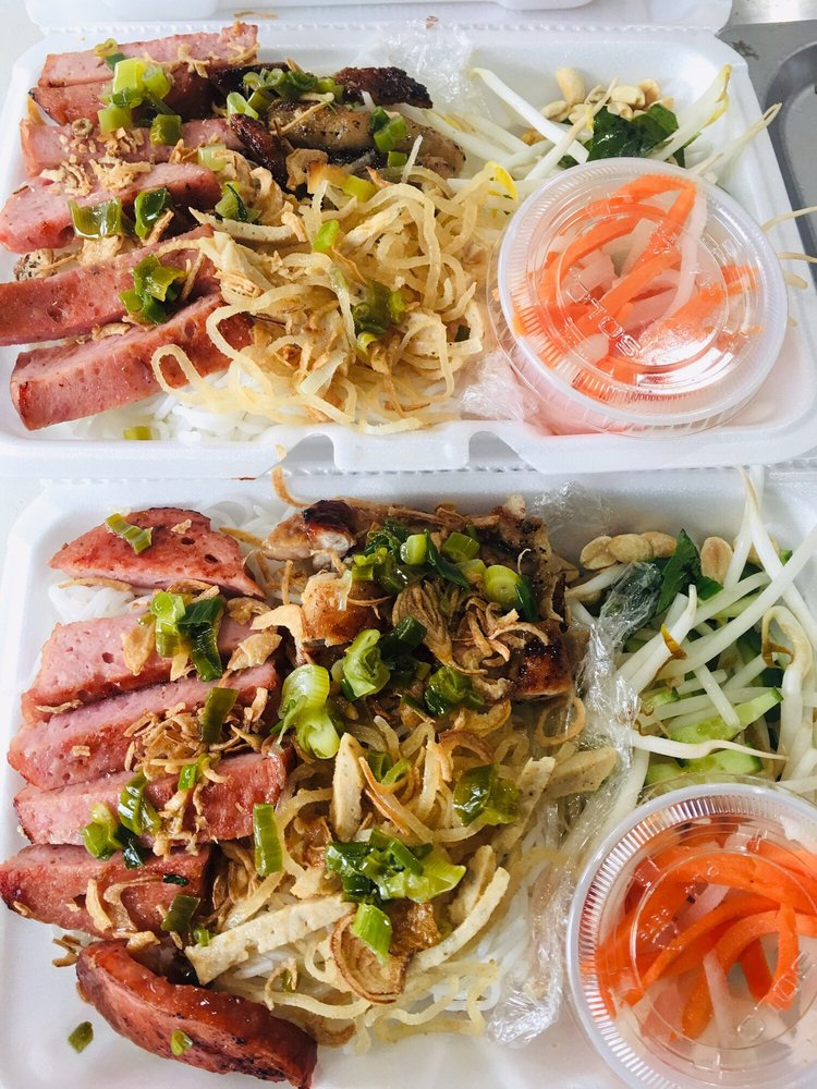 Food from C & N Vietnamese Cuisine