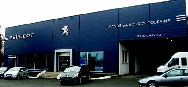 Concession peugeot grands garages de touraine - Grand garage de l herault peugeot montpellier ...