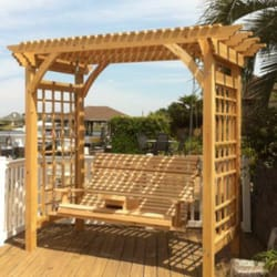 Photo Of Unique Woodworks   Slidell, LA, United States. High Back Swing With