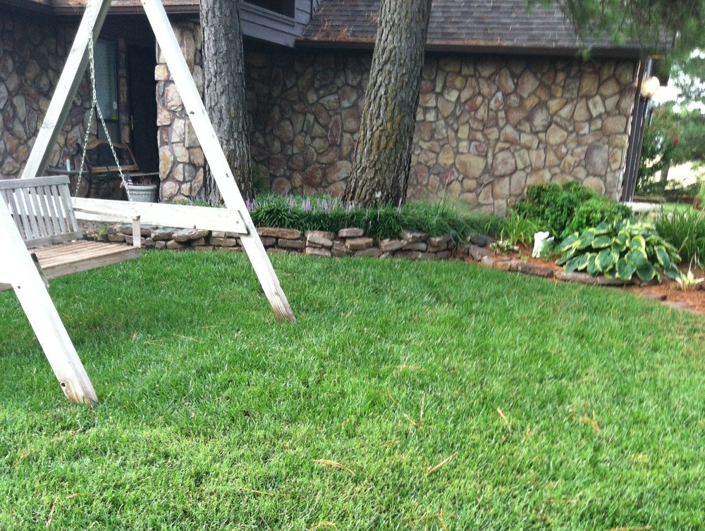 Photo Of Irish Green Lawn Care Moore Ok United States Taken