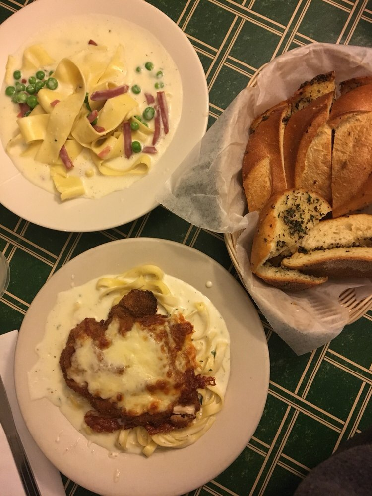 Food from Paul's Pasta Shop