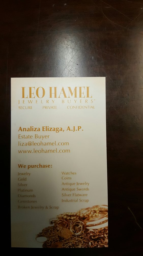 Leo Hamel Jewelry Buyers
