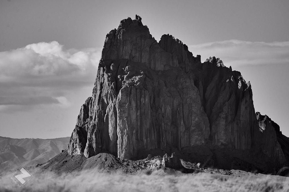 Shiprock Monadnock Rock Formation: Shiprock, NM