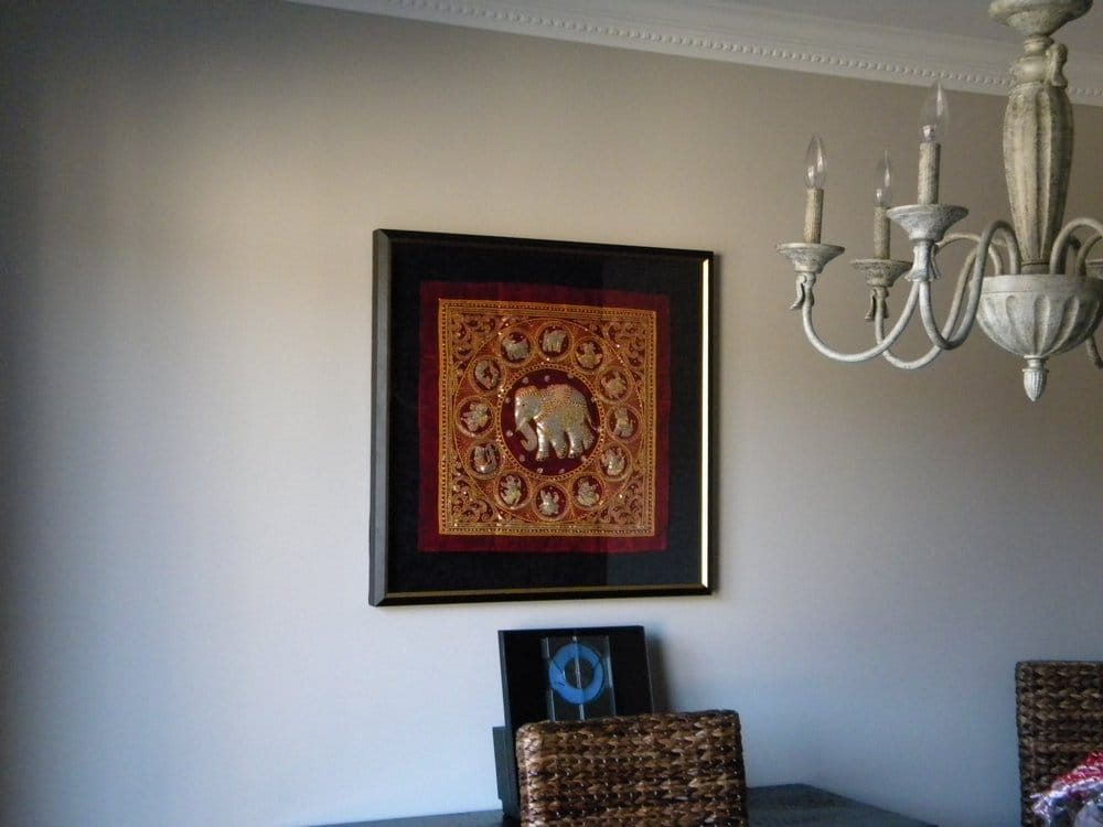 Burmese Tapestry framed by Iloilo Custom Framing - Yelp