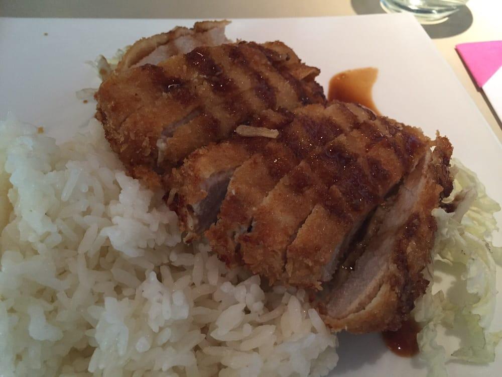 Tonkatsu milanesa de cerdo yelp for Resto jardin japones