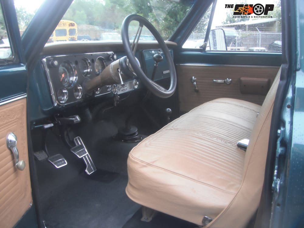 The finished product of a restoration of a 1969 chevy c20 - Auto interior restoration products ...