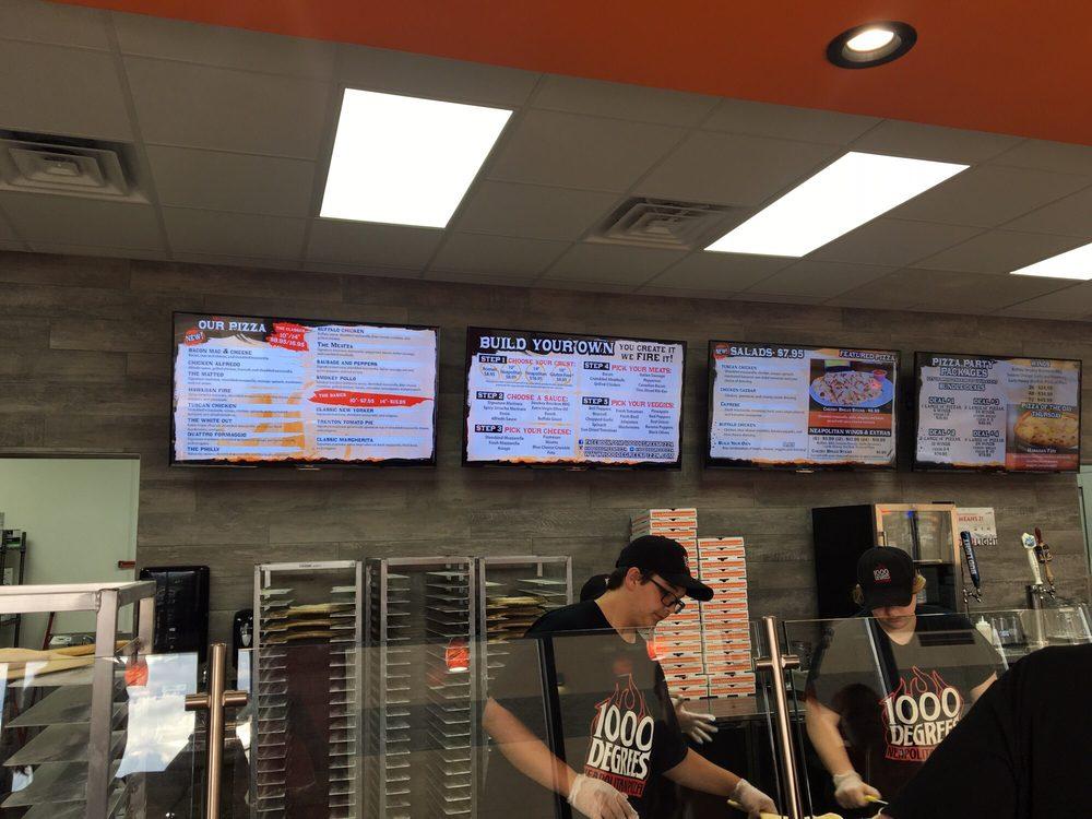 1000 Degrees Neapolitan Pizzeria: 2631 26th St SE, Watertown, SD