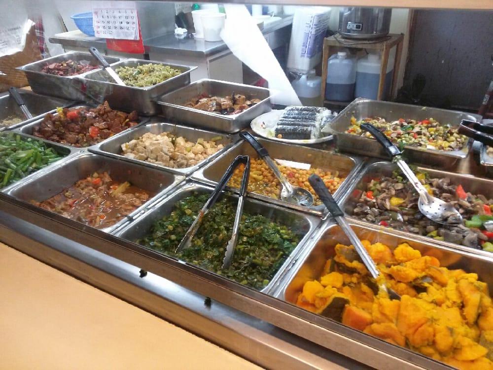 Hot food bar 100 vegetarian yelp for Food bar health