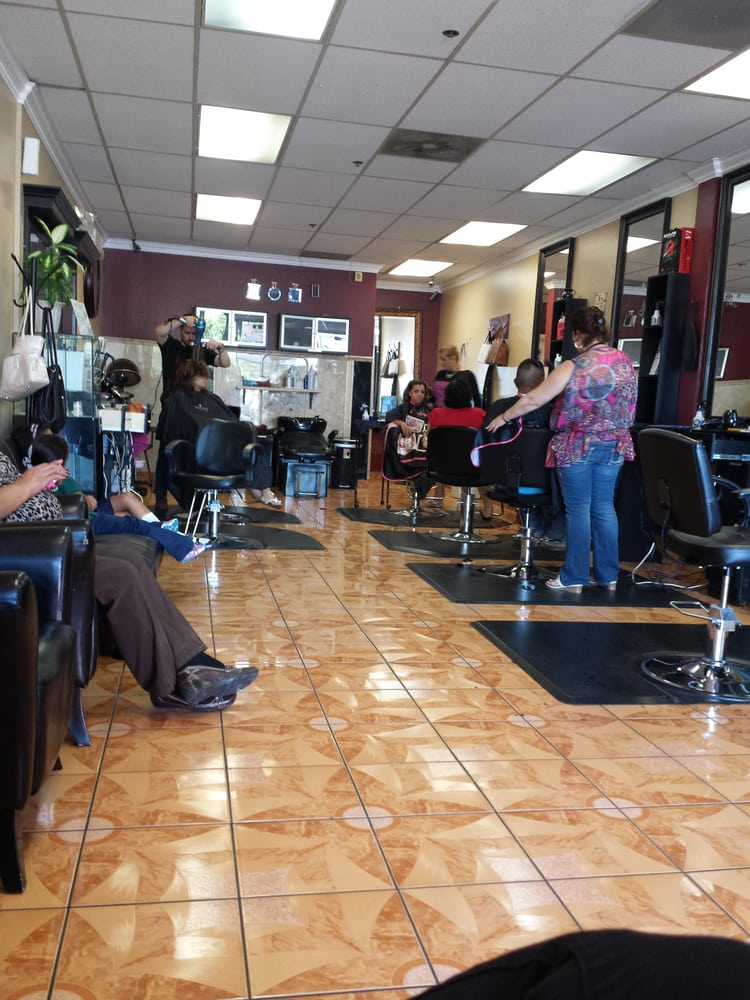 Edith beauty salon 95 photos 29 reviews hair salons for 1662 salon east reviews
