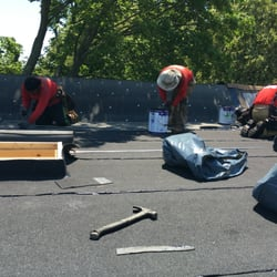 Photo Of NY Roofing   Brooklyn, NY, United States. Flat Roofing In Canarsie