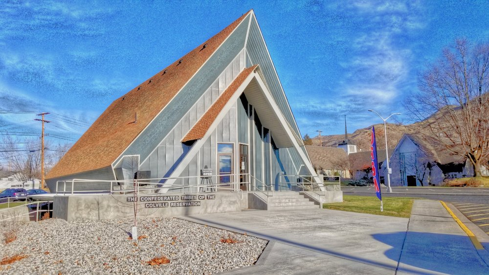 Colville Tribal Museum Gift Shop: 512 Mead Way, Coulee Dam, WA