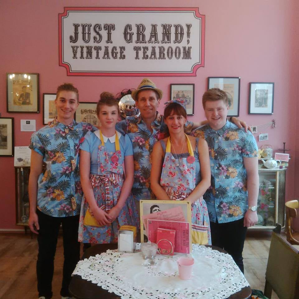 Just Grand Tea Rooms Leeds