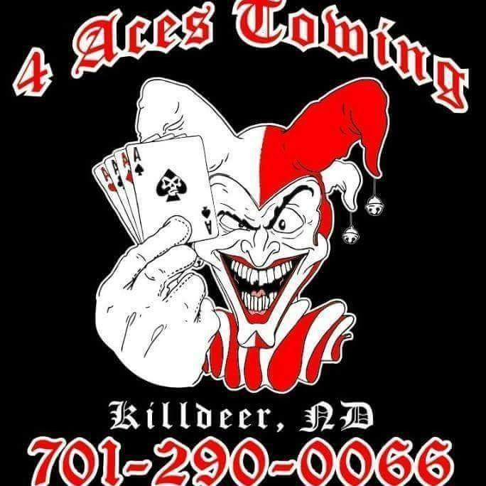 Four Aces Towing, Recovery & Repair: 274 S Central Ave, Killdeer, ND