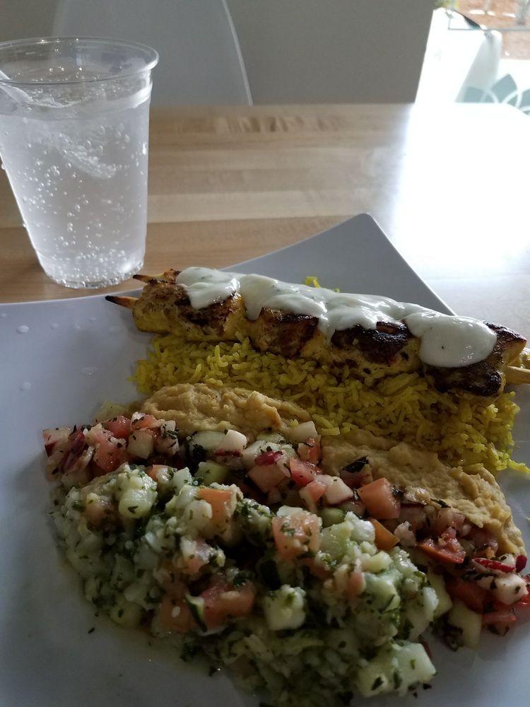 Baba's Mediterranean Grill: 10215 NE Cascades Pkwy, Portland, OR