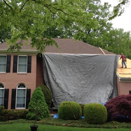 Photo Of Brooks Family Roofing   Wilmington, DE, United States. We Use Tarps