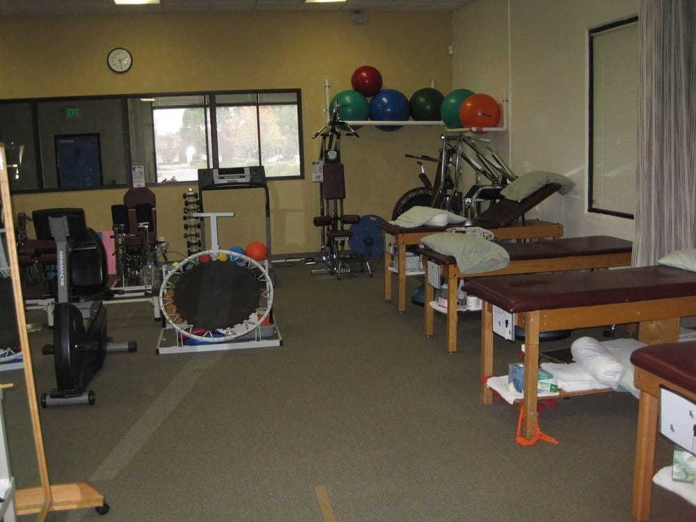 We offer private treatment rooms semi private spaces and open gym
