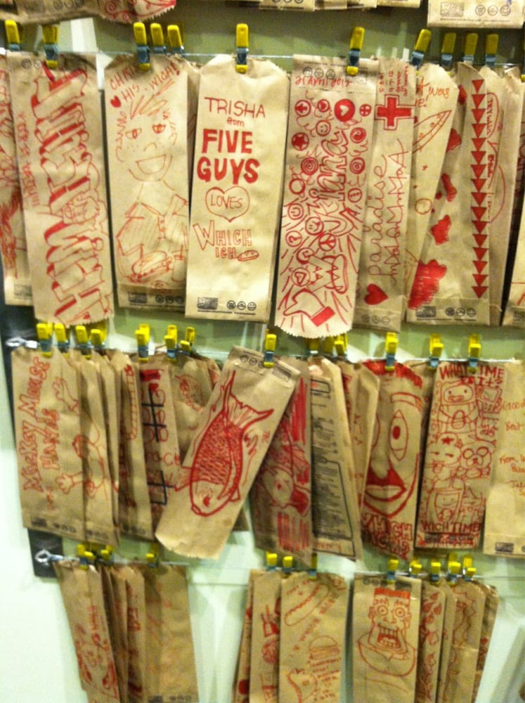 Photo of which wich san jose ca united states which wich bag art