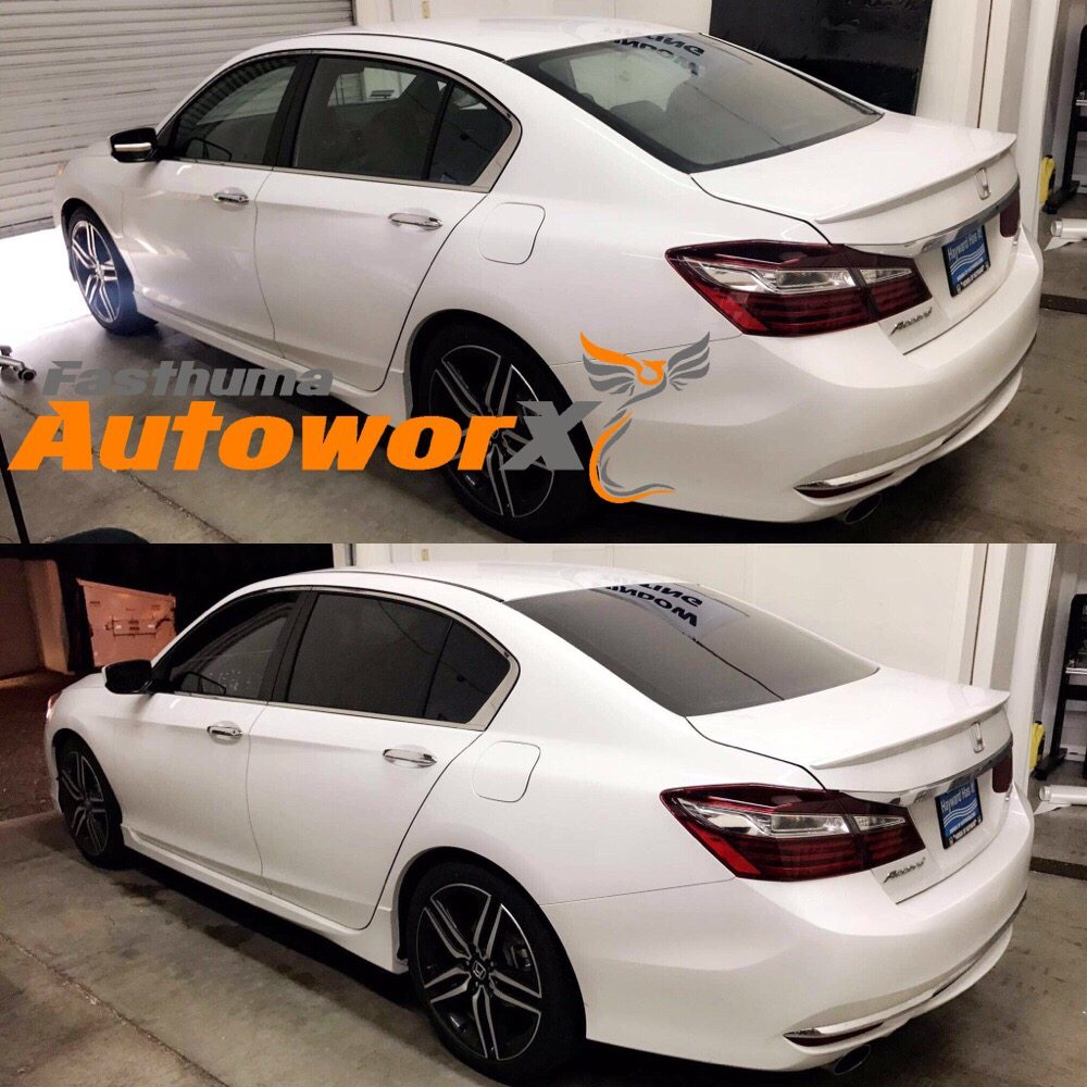 2017 Honda Accord Windows Tinted 5% Back Windows 35% Front