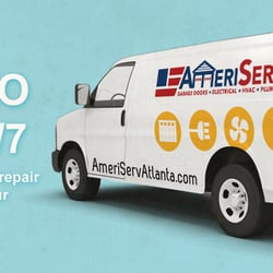 Photo Of AmeriServ   Atlanta, GA, United States. Electrician, Garage Door  Repair