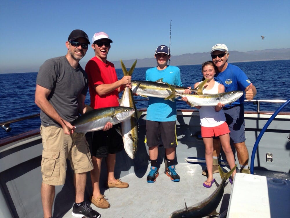 Great day with captain joe and crew on the sea star 17 for Oceanside fish report