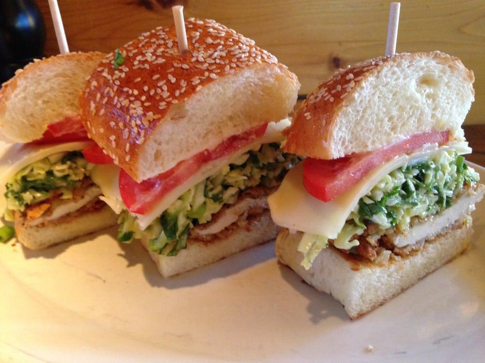 Dings Crispy Chicken SandwichButtermilk fried chicken, baby