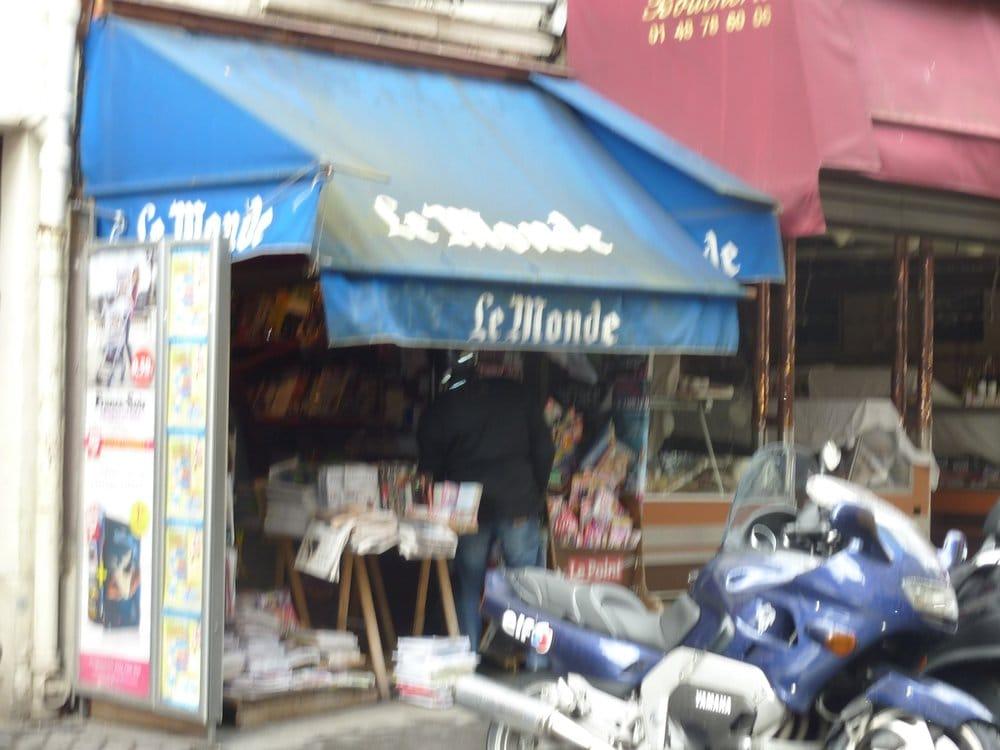 Le monde 3 rue des martyrs 9 me paris for Le miroir rue des martyrs