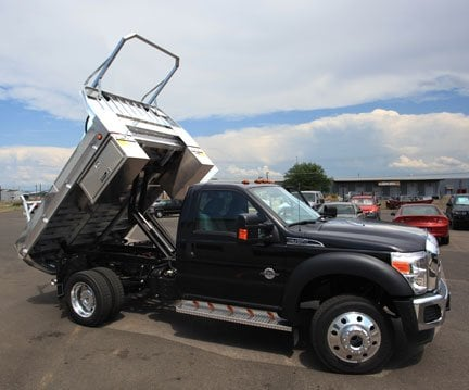 Chevy 3500 Dually Flatbed >> Need a Dump Truck Body? Highway Products flatbeds will save you time and money! 1.800.TOOL.BOX ...