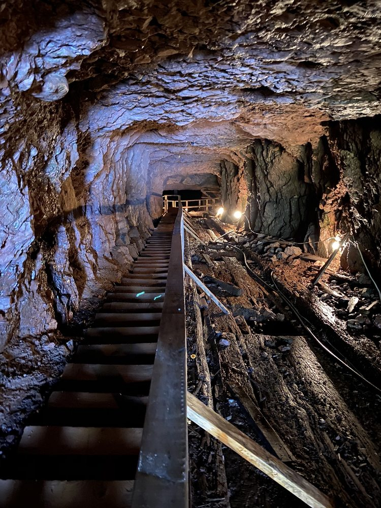 Delaware Copper Mine Tours: 7804 Delaware Mine Rd, Copper Harbor, MI