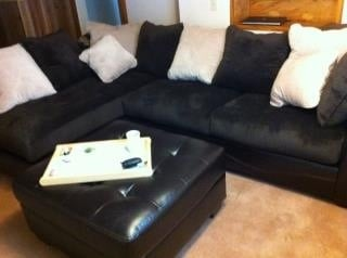 Our Sectional With Matching Ottoman From Tj 39 S Yelp