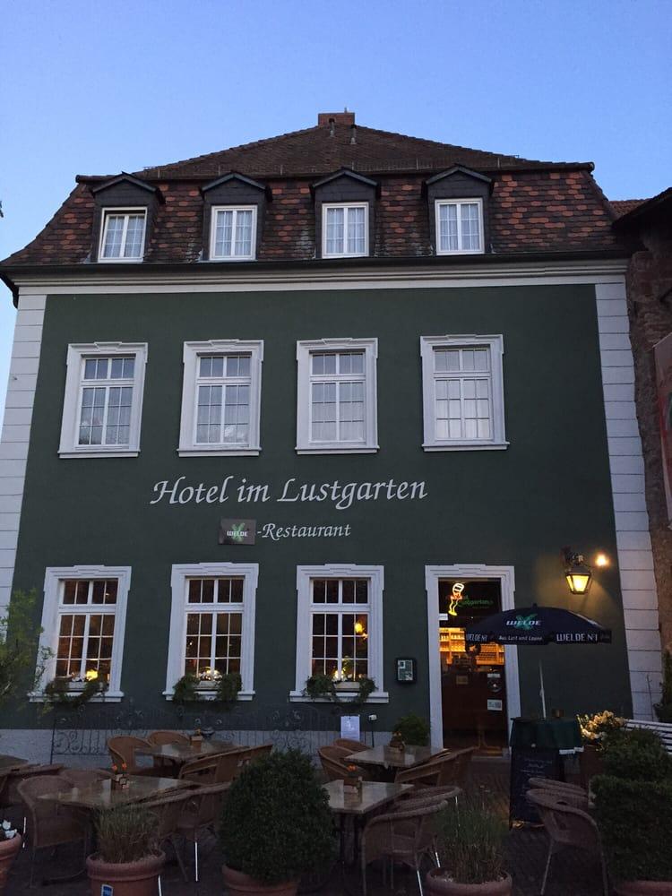 Hotel Im Lustgarten Restaurant  Ladenburg Ladenburg